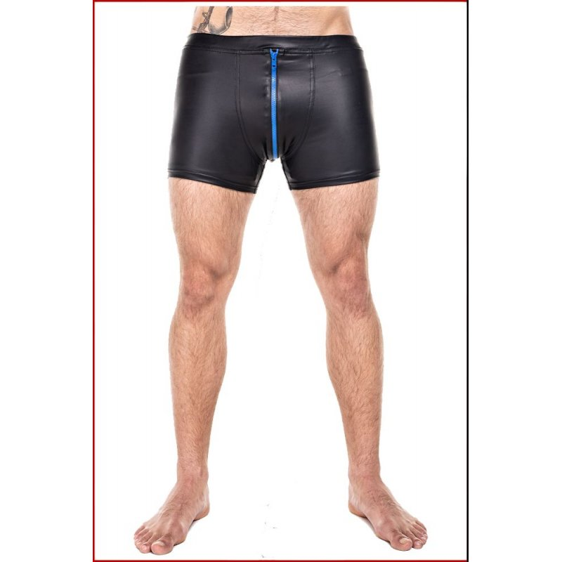 Shorts with Blue Zipper